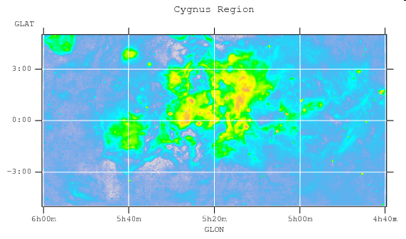 Cygnus region with several supernova remnants (1990)