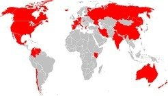 Countries of origin of our IMPRS students.