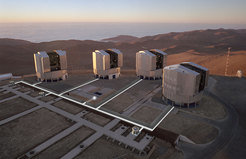 ESO VLTI (Very Large Telescope Interferometry)