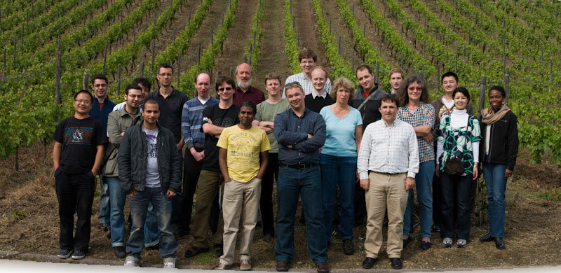 Group day-out in the vineyards of neighbouring region, Summer 2010