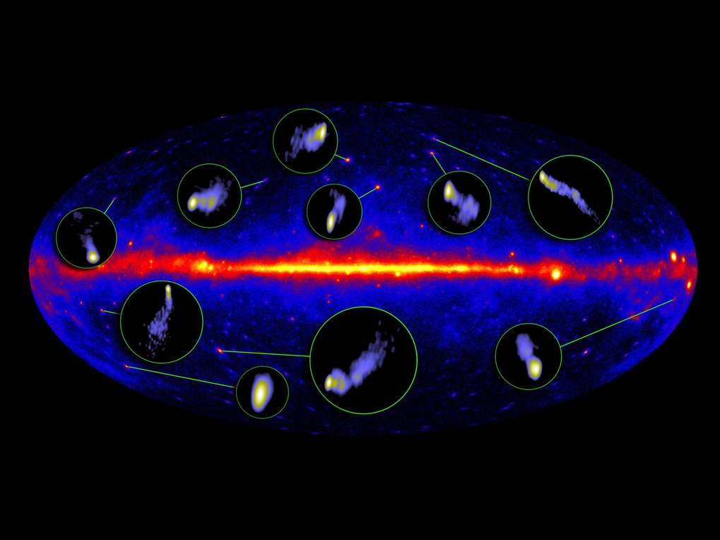 "By employing radio-interferometry, extragalactic objects and their centres are investigated in great detail. The Very Long Base Line Interferometry (VLBI) method is applied by correlating data from telescopes distributed worldwide and using them as a ""giant"" combined telescope within the framework of coordinated arrays as the the European VLBI network (EVN). In addition, global VLBI experiments are conducted in cooperation with telescopes in the USA. The main area of scientific research is the centres of active galactic nuclei and their jets. One aim is to depict the shell of so-called ""central engines"" in active galactic centres, which are thought to coincide with ""super-massive black holes""."