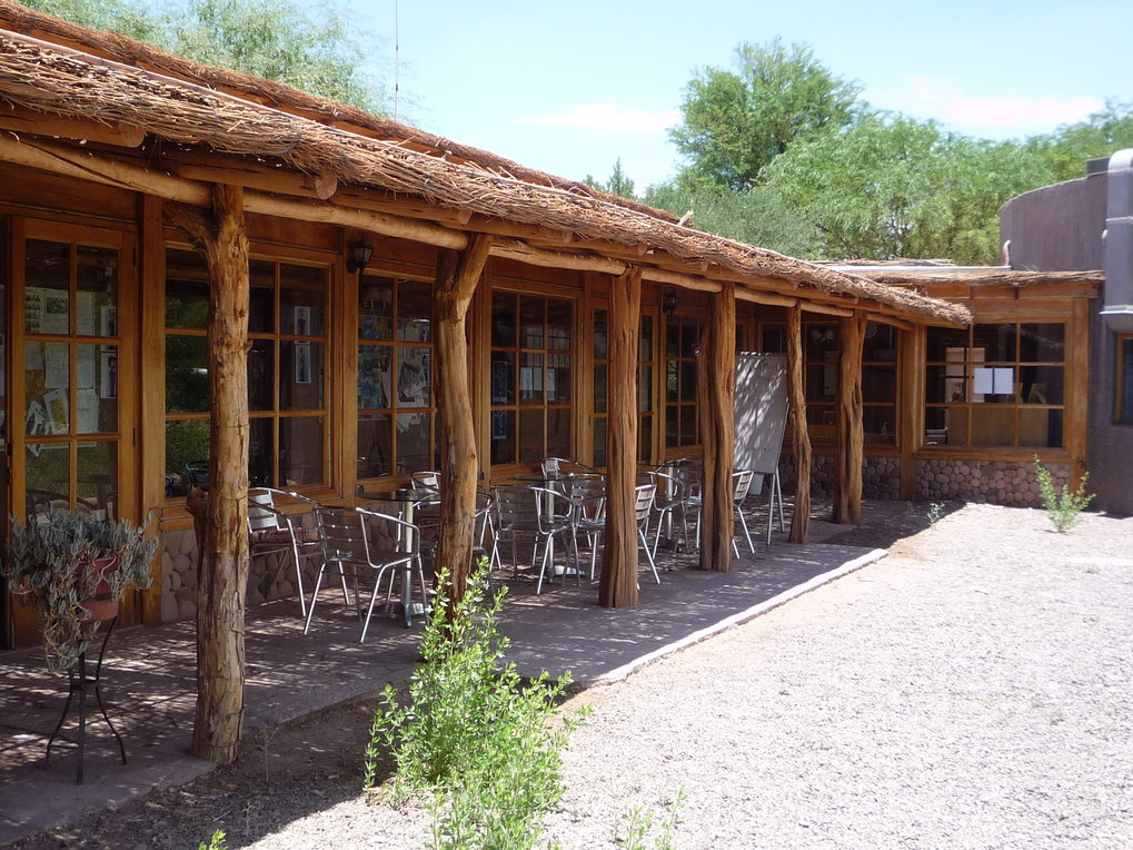 The APEX base camp in Sequitor in San Petro de Atacama