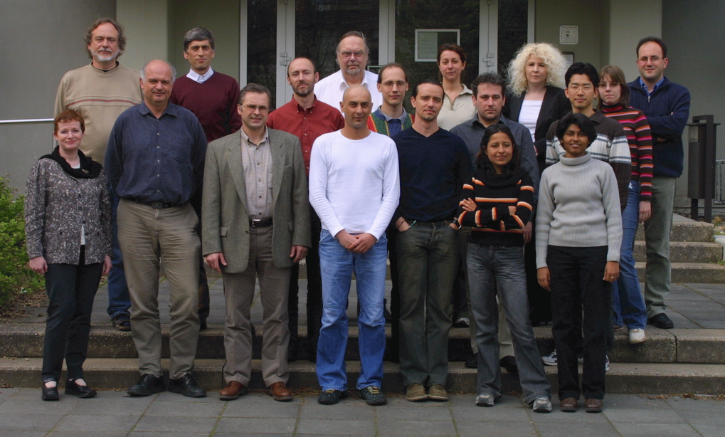 VLBI Department, April 2005Among others, from top left to bottom right: Thomas P. Krichbaum,  J. Anton Zensus,  Alan L. Roy, Emmanouil Angelakis, Eduardo Ros., Iván Agudo, Violette Impellizzeri, Silke Britzen, SangSung Lee, Anupreeta Moré