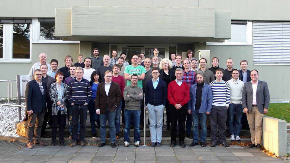 Group picture from the 2013 Bonn-Dwingeloo Meeting, held at the MPIfR