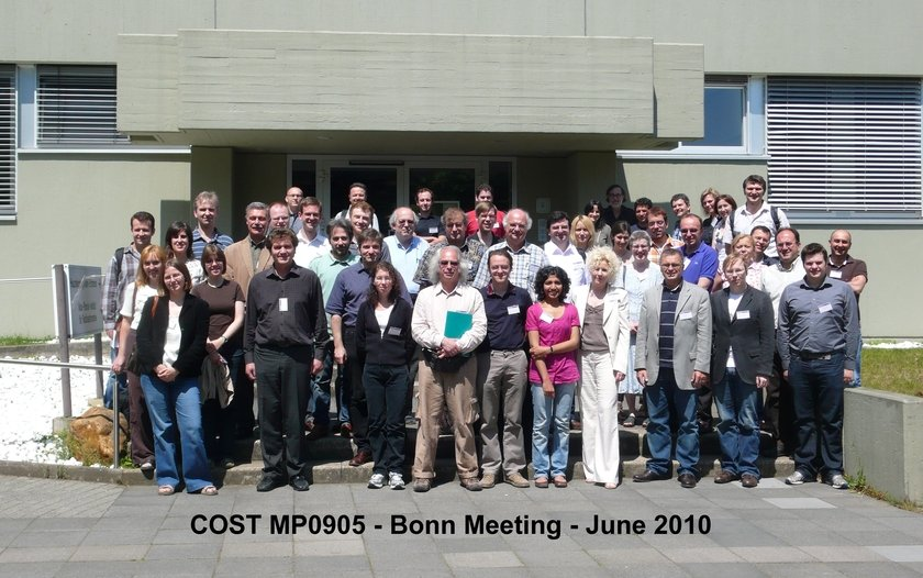Group picture of the 1st WG Meeting of the COST MP0905 action, held at the MPIfR in Bonn.