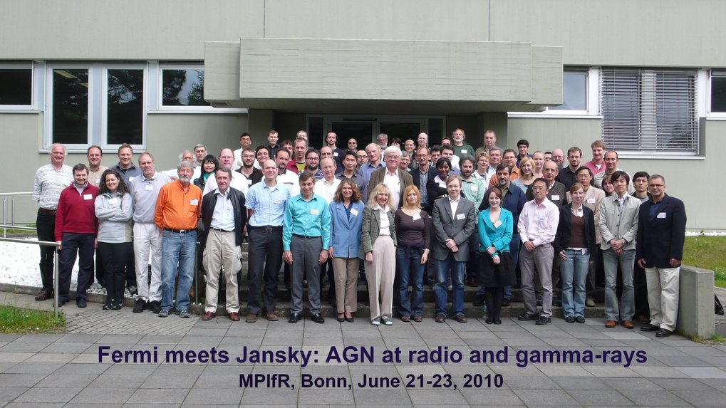 Group picture of the Fermi meets Jansky meeting, held at the MPIfR in Bonn.