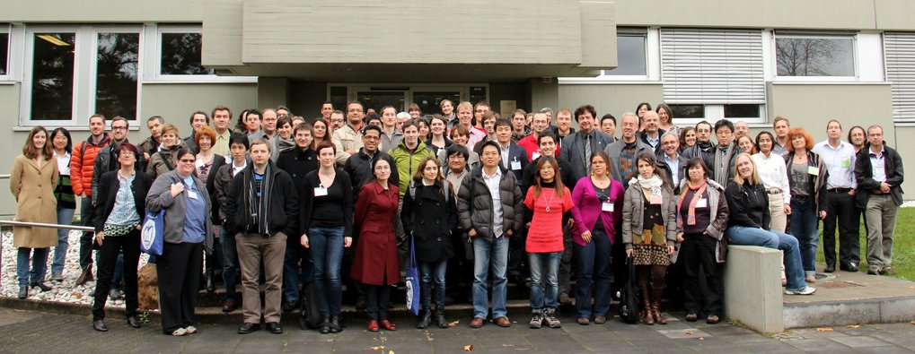 Group picture of the Seyfert 2012 workshop held at the MPIfR in Bonn.