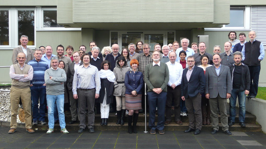 "<p>Group picture of the meeting ""Perspectives of VLBI at extreme precision"" </p>"