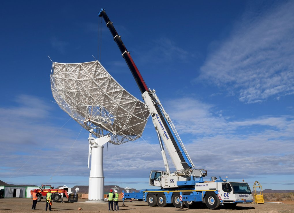 The Max Planck Society has funded a second SKA prototype dish, SKA-MPI, currently being constructed on site in South Africa, bringing together Chinese, Italian and German components.
