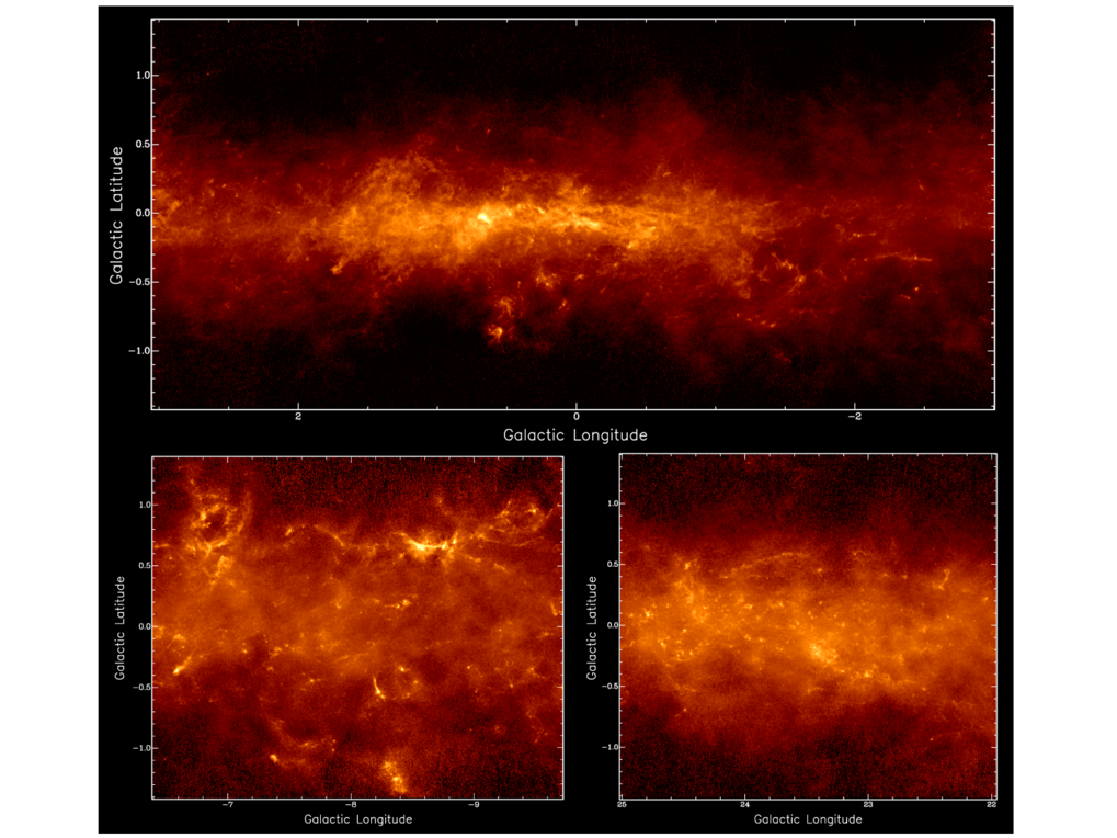 Massive stars have a strong influence on the appearance of galaxies: with their strong outflows during their formation, their winds and UV radiation and, at the end of their lifes, powerful supernova explosions. In spite of their importance, much less is known about their process of formation than for their lower mass, sun-like siblings. Using teleccopes operating at a large range of wavelenghts (e.g. at cm-wavelengths using Effelsberg, and mm-wavelengths using the IRAM 30m and NOEMA telescopes and at submm-wavelenghts using APEX, ALMA and SOFIA) many aspects of star formation are studied, in particular with large scale spatial surveys to find and characterize star forming regions in a variety of evolutionary stages and with molecule line surveys to determine their physical and chemical conditions.