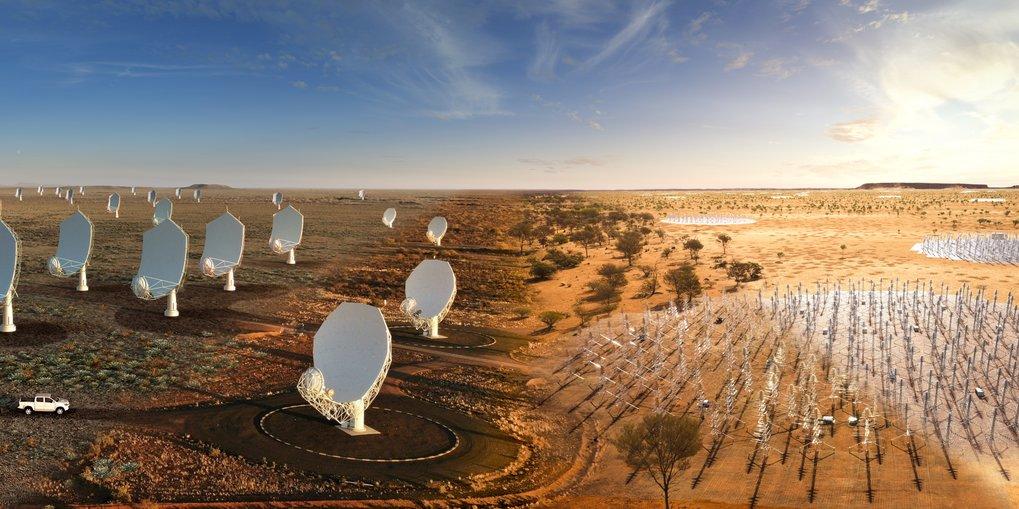 The Square Kilometre Array Observatory (SKAO) is Born |  Max-Planck-Institute for Radio Astronomy