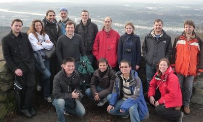<p>Christmas hiking at Löwenburg, Winter 2012</p>