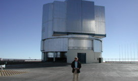 One of the UTs at Paranal, Chile © Matthias Heininger