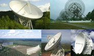 The five 100-m class telescopes forming the Large European Array for Pulsars