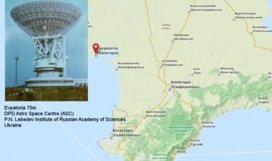 Evpatoria 70mDPD Astro Space Centre (ASC)P.N. Lebedev Institute of Russian Academy of SciencesUkraine